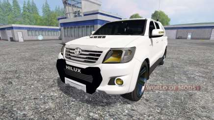 Toyota Hilux [city version] para Farming Simulator 2015