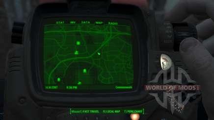 Immersive Map 4k - VANILLA - Full Squares para Fallout 4