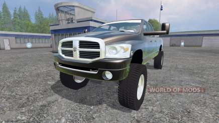 Dodge Ram 3500 2007 [wide stance] v1.2 para Farming Simulator 2015