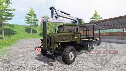 Ural-4320 [madera] v3.0 para Farming Simulator 2015