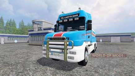 Scania T164 [tanker] para Farming Simulator 2015