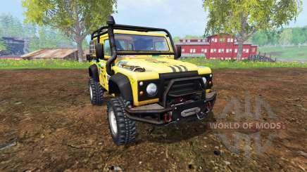 Land Rover Defender 90 v2.0 para Farming Simulator 2015