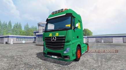 Mercedes-Benz Actros MP4 v2.0 [AguasTenias] para Farming Simulator 2015