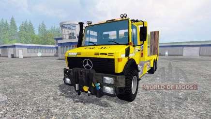Mercedes-Benz Unimog [cartransporter] para Farming Simulator 2015