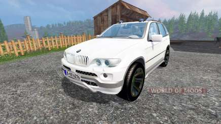 BMW X5 Unmarked Police para Farming Simulator 2015