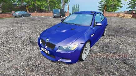 BMW M3 (E92) 2008 CID v1.1 para Farming Simulator 2015