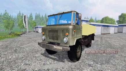 GAZ-66 para Farming Simulator 2015
