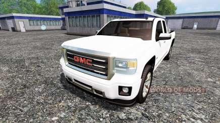 GMC Serria 2014 para Farming Simulator 2015