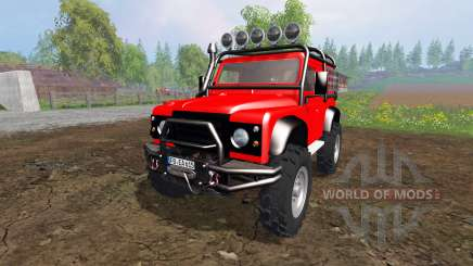 Land Rover Defender 90 [offroad] para Farming Simulator 2015