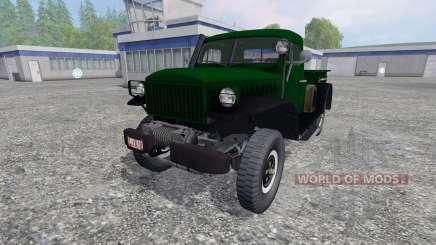 Dodge Power Wagon WM-300 para Farming Simulator 2015