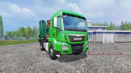 MAN TGS mobile chipper v1.0 para Farming Simulator 2015
