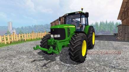 John Deere 7520 para Farming Simulator 2015