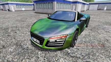 Audi R8 Spyder [NOS] para Farming Simulator 2015