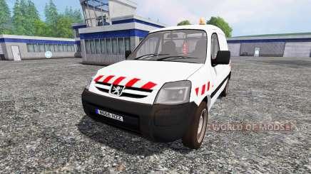 Peugeot Partner v2.0 para Farming Simulator 2015