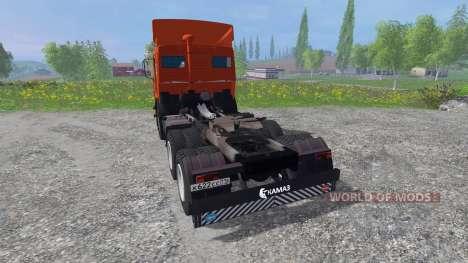 KamAZ-54115 [rojo] para Farming Simulator 2015