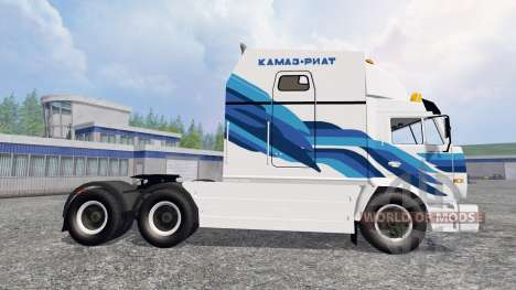 KamAZ-54112 RIAT v2.0 para Farming Simulator 2015