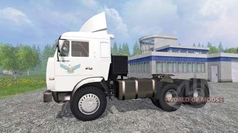 KamAZ 54115 v1.1 para Farming Simulator 2015
