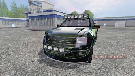 Ford F-150 Raptor [Halo Edition] v1.1 para Farming Simulator 2015