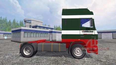DAF XF95 [Hoehlschen] para Farming Simulator 2015