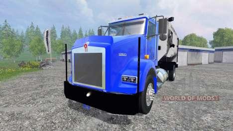 Kenworth T800 [feed truck] para Farming Simulator 2015