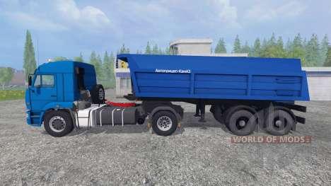 KamAZ-5460 [tráiler] para Farming Simulator 2015