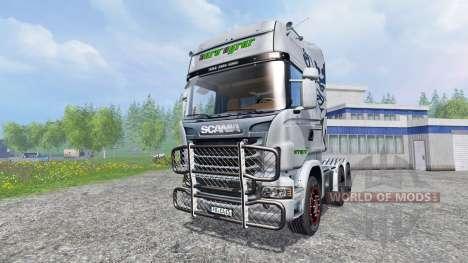 Scania R730 [euro farm] v0.9 para Farming Simulator 2015
