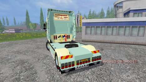 DAF XF105 v1.0 para Farming Simulator 2015