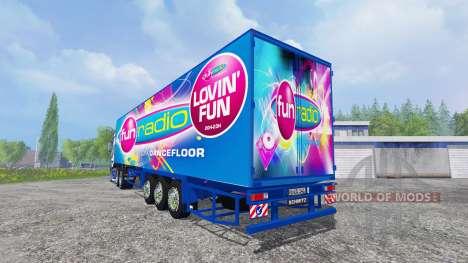 Scania R700 [Fun Radio] para Farming Simulator 2015