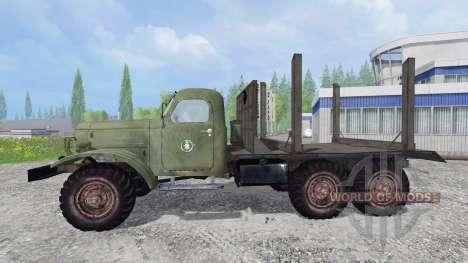 ZIL-157 [de madera] para Farming Simulator 2015