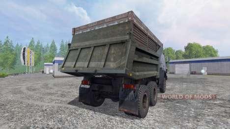 KamAZ 55111 v4.0 para Farming Simulator 2015