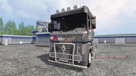 Renault Magnum [vega route 66] para Farming Simulator 2015
