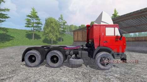 KamAZ 5410 v1.2 para Farming Simulator 2015