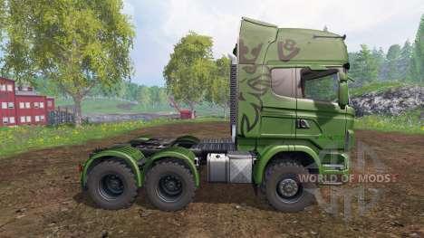 Scania R730 [euro farm] v0.9.6 para Farming Simulator 2015