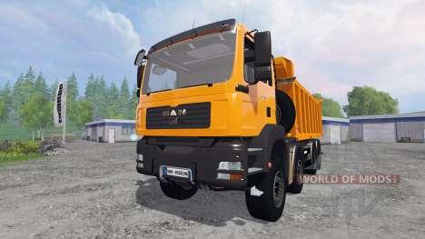 MAN TGA 8x8 [tipper] para Farming Simulator 2015