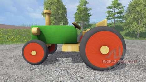 Tractor de madera para Farming Simulator 2015