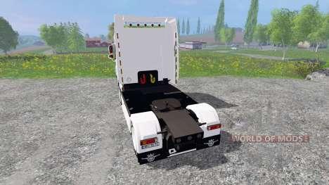 DAF XF105 para Farming Simulator 2015