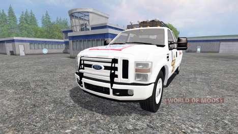 Ford F-350 [Budweiser] para Farming Simulator 2015