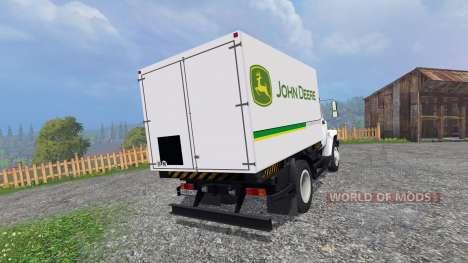ГАЗ-4732 [John Deere Service] para Farming Simulator 2015