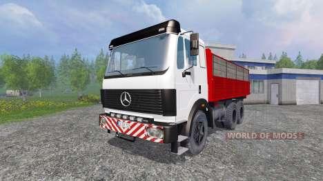 Mercedes-Benz 2435 [tipper] v0.2.5b para Farming Simulator 2015