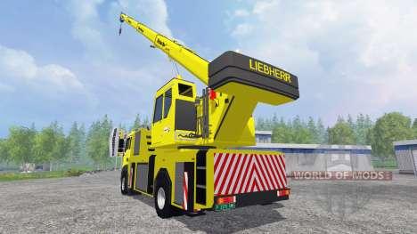 MAN TGA [crane] para Farming Simulator 2015