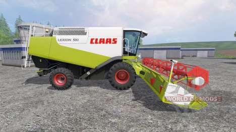 CLAAS Lexion 580 para Farming Simulator 2015