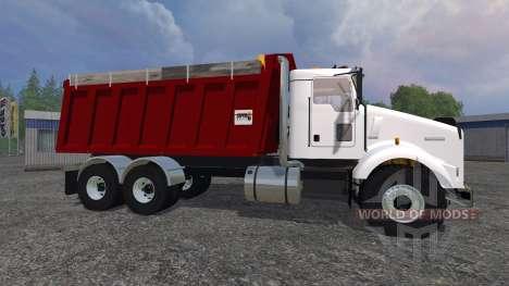 Kenworth T800 [dump] para Farming Simulator 2015