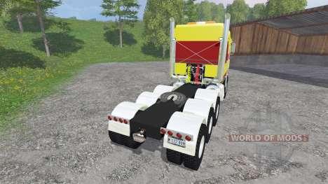 Kenworth K100 v1.1 para Farming Simulator 2015