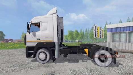 MAZ-5440А8 [Tonar] v1.2 para Farming Simulator 2015