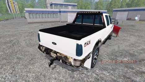 Ford F-250 [plow] para Farming Simulator 2015