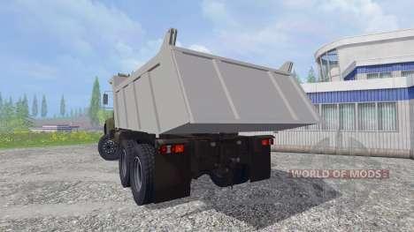 El KrAZ B18.1 v2.0 para Farming Simulator 2015