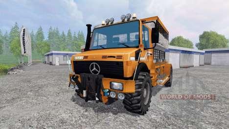 Mercedes-Benz Unimog [spezial vieh] para Farming Simulator 2015
