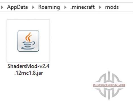 ShadersMod v2.4 [1.8] para Minecraft