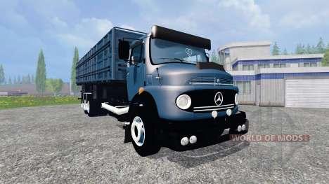 Mercedes-Benz 1513 [multicolored] para Farming Simulator 2015