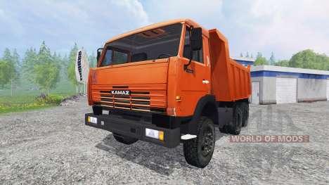 KamAZ-65115 v1.0 para Farming Simulator 2015